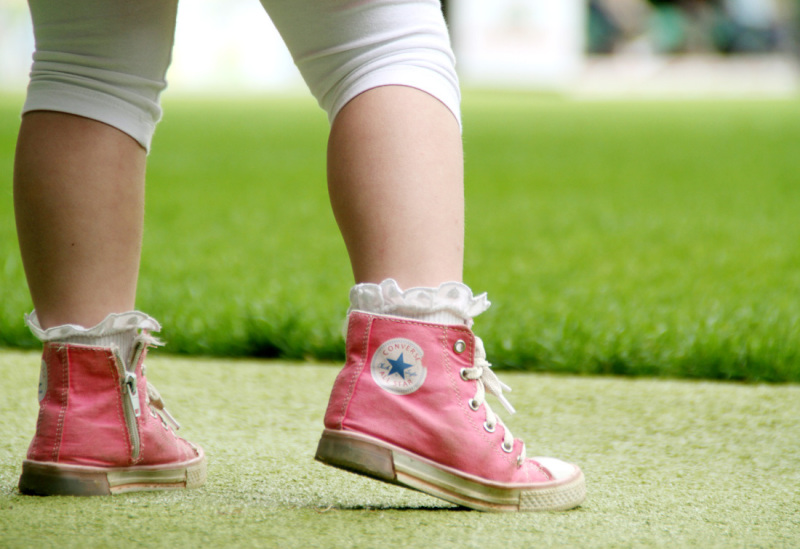 pink converse baby