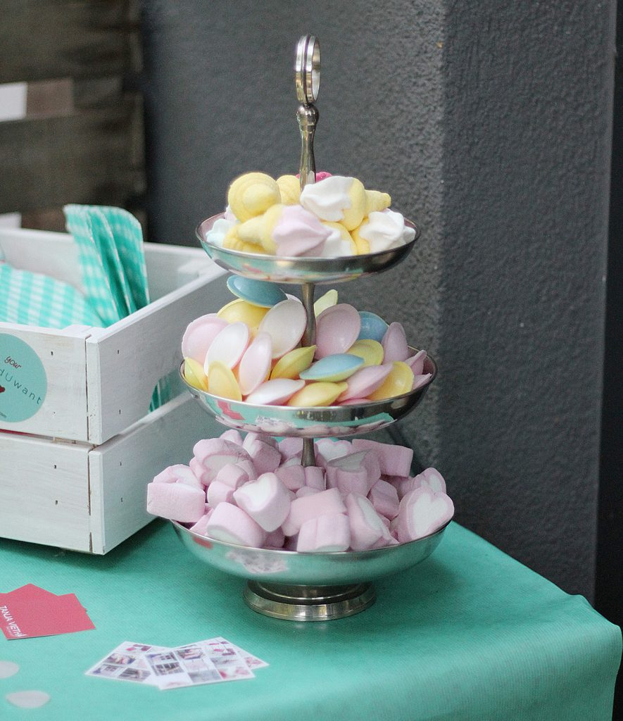 Candy Buffet pink blue